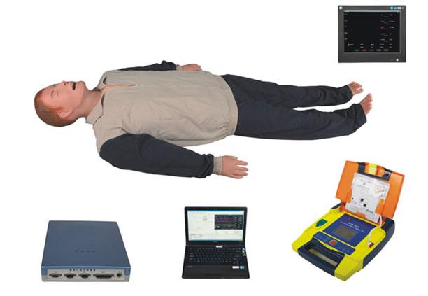 高智能数字化综合急救技能训练系统(ACLS高级生命支持、计算机软件控制系统)