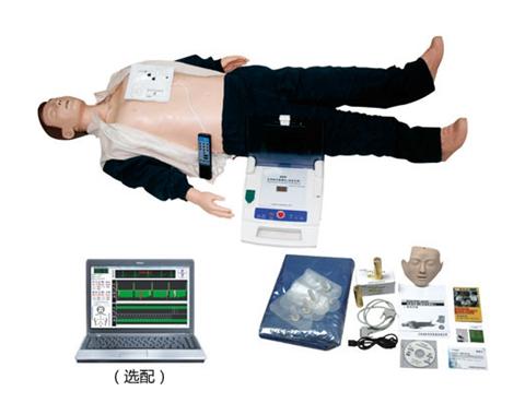 高级心肺复苏、AED除颤模拟人(计算机控制二合一组合)